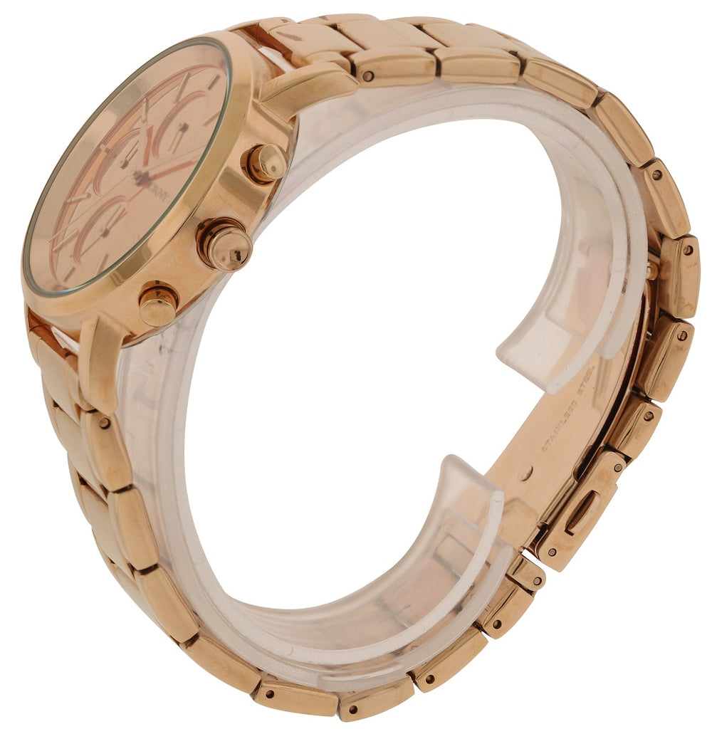 DKNY Rose Gold-Tone Chronograph Ladies Watch