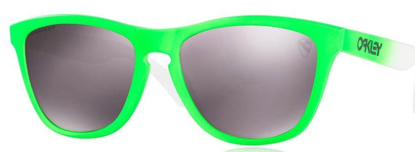 Oakley Frogskins Prizm Polarized Green Fade Edition - Sunglasses -