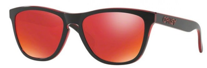 Oakley Frogskins Eclipse Red - Sunglasses -