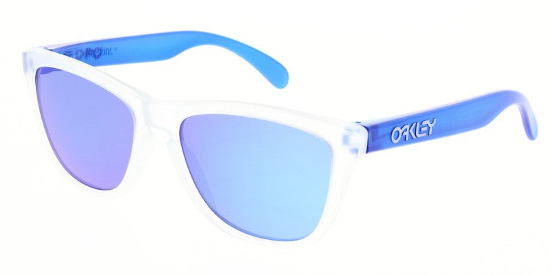 Oakley Frogskins Colorblock Matte Clear - Sunglasses -