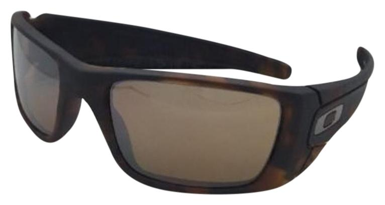Oakley Fuel Cell Matte Tortoise/Tungsten Iridium Mens Sunglasses -