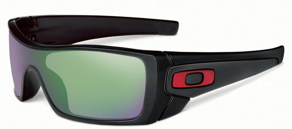 Oakley Batwolf Prizm H20 Shallow Polarized Polished Black Mens Sunglasses -
