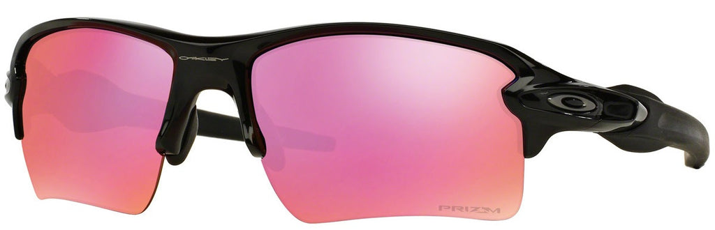 Oakley Flak 2.0 XL OO9188-06 Rectangular Polished Black Mens Sunglasses -