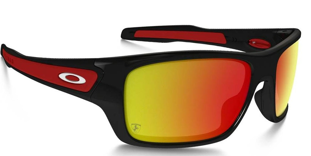 Oakley Turbine Scuderia Ferrari Polished Black - Sunglasses -