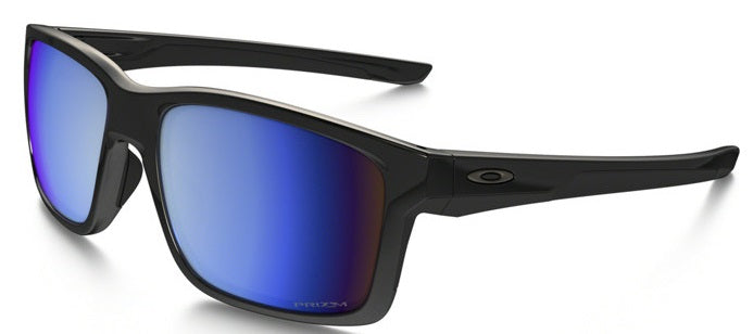 Oakley Mainlink Polarized Polished Black/Prizm Deep Water  Mens Sunglasses -