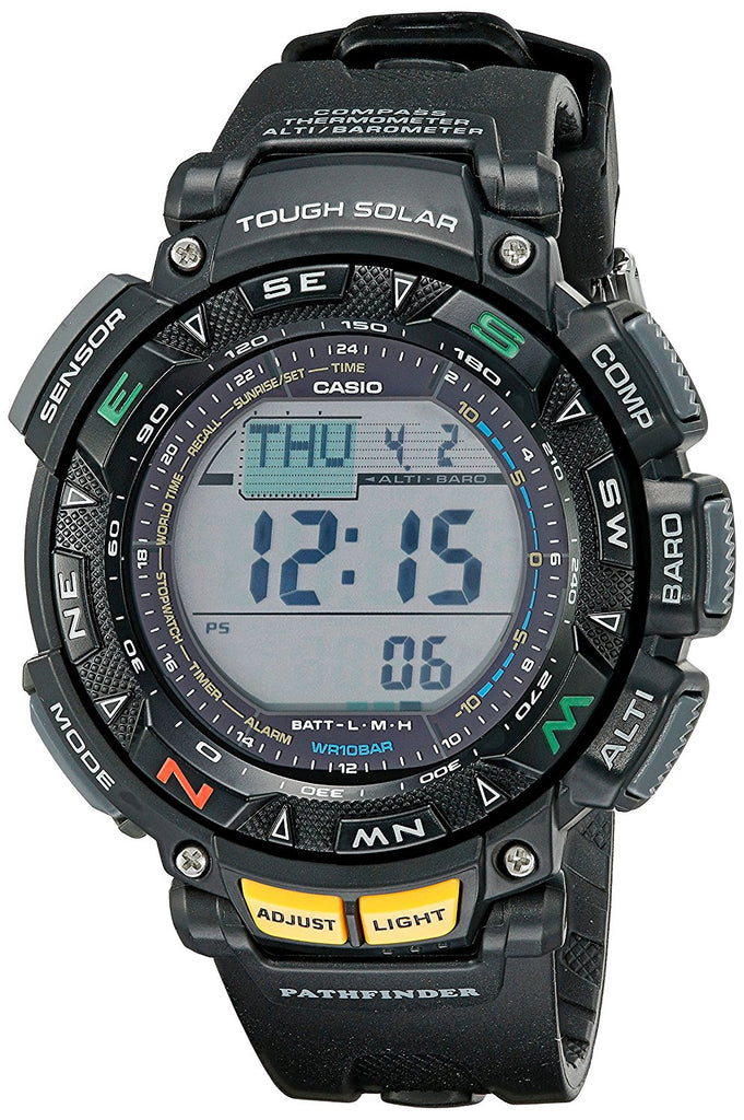 Casio Pro Trek Pathfinder Triple Sensor Tough Solar Mens Watch