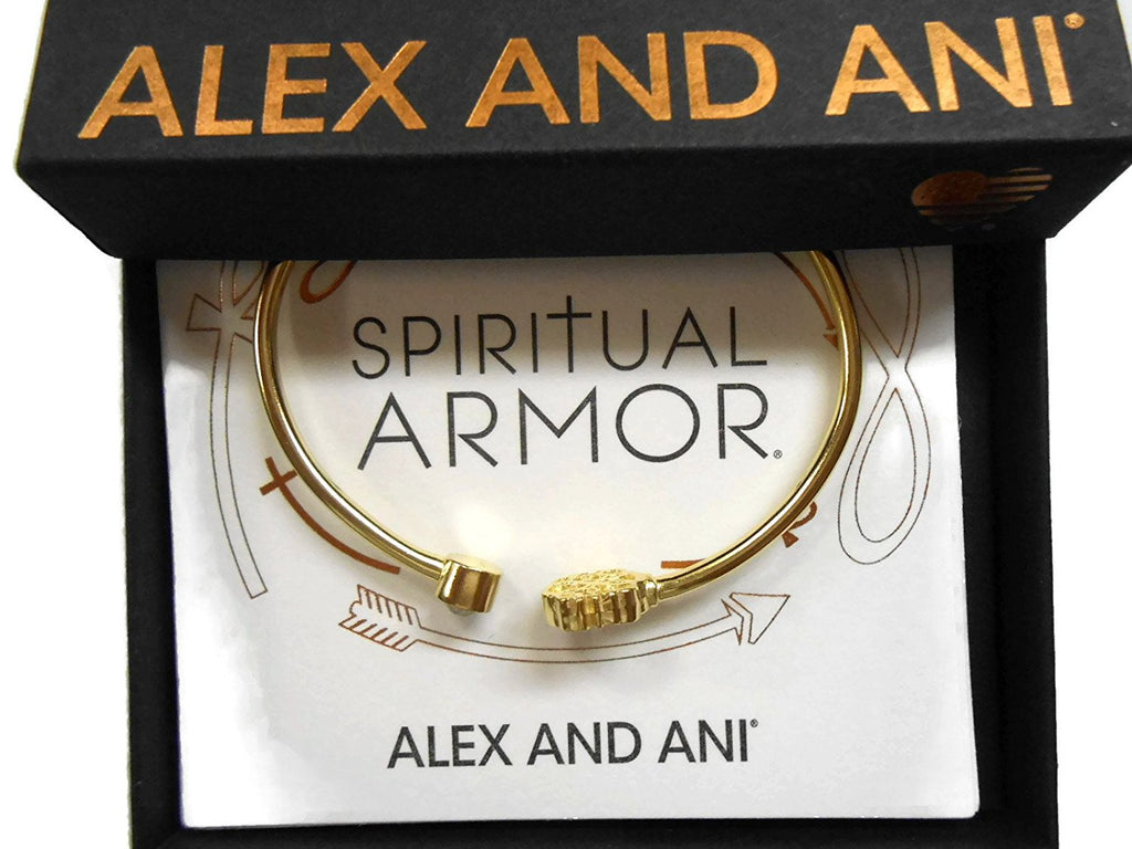 Alex and Ani Path of Life Cuff Bracelet 14Kt Gold Plated -