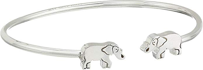 Alex And Ani Elephant Cuff - Sterling Silver Bracelet -