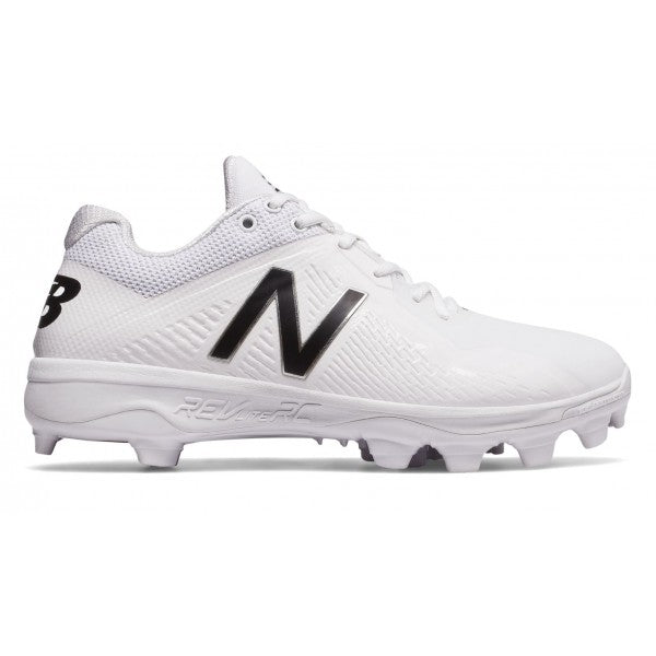 New Balance Mens 4040 V4 TPU Baseball Cleats - White - Size 12