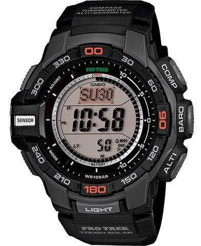 Casio Pro Trek Solar Compass Triple Sensor Mens Watch