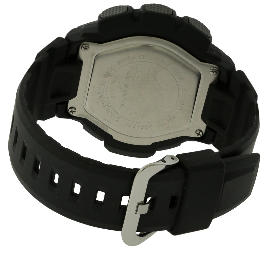 Casio Pro-Trek Triple Sensor Solar Mens Watch