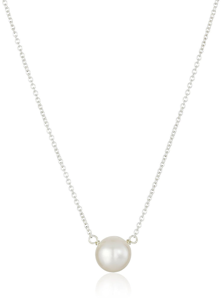 Dogeared Pearls of Wisdom Sterling Silver Freshwater Pearl Necklace -