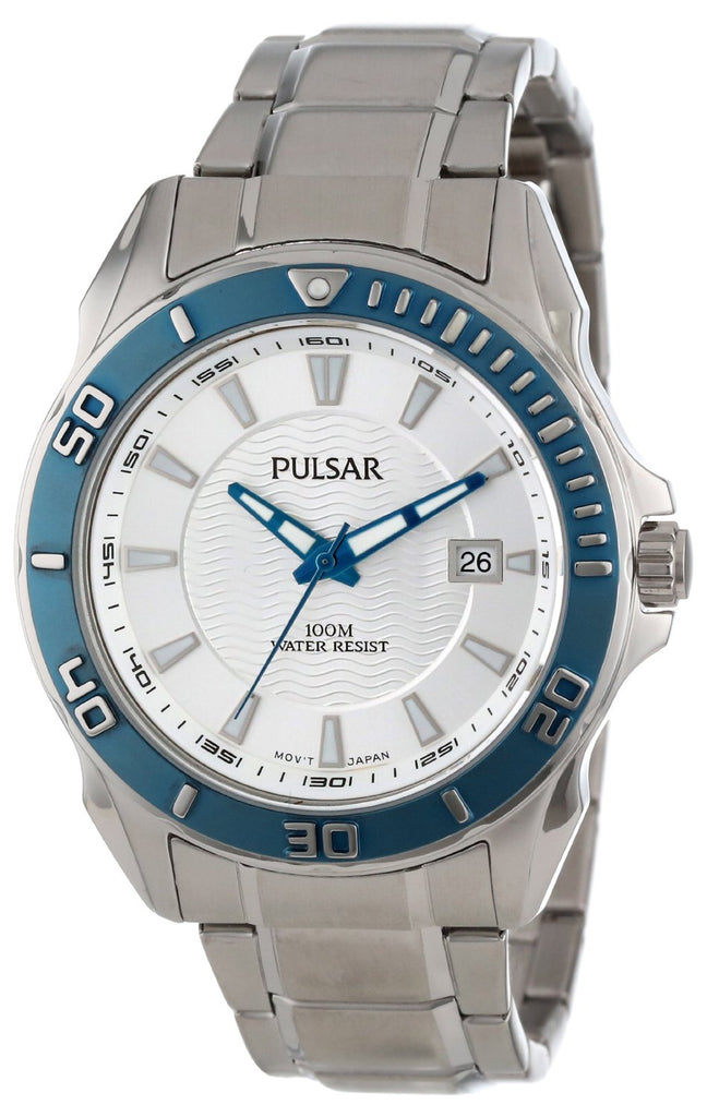 Pulsar Stainless Steel Mens Watch