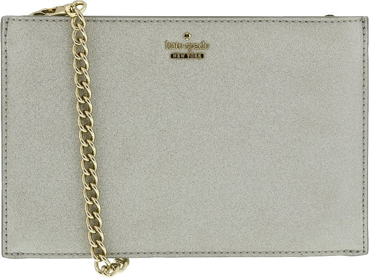 Kate Spade Burgess Court Mini Sima Crossbody - Silver -