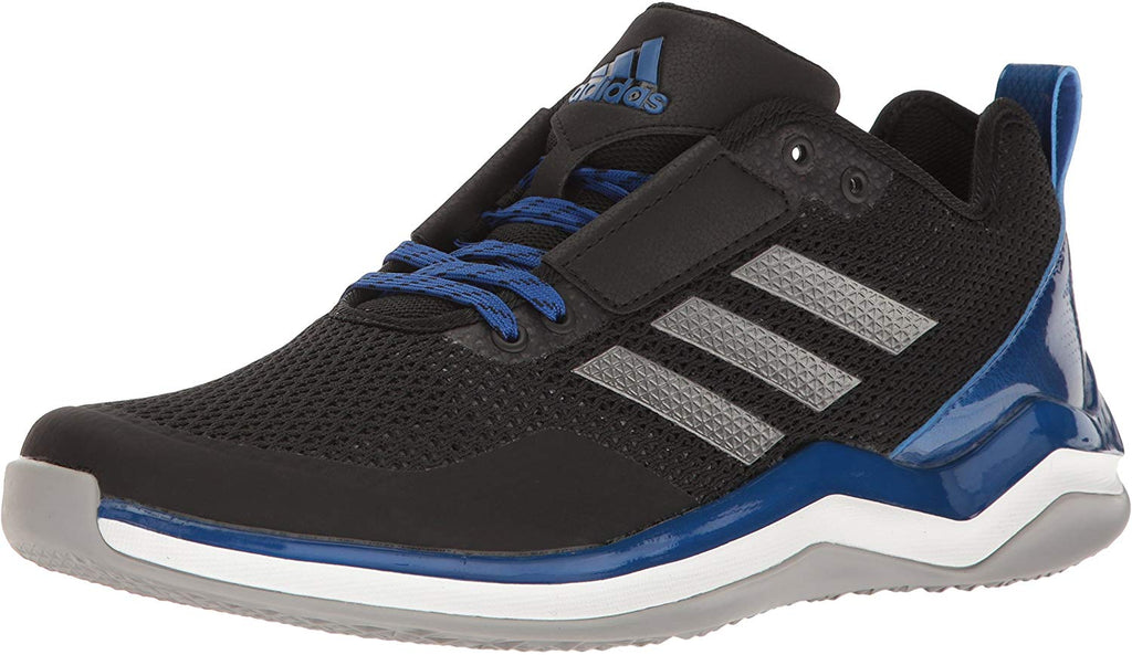 adidas Performance Mens Speed Trainer 3.0 Core Shoe/Black Iron Met Collegiate Royal/10.5