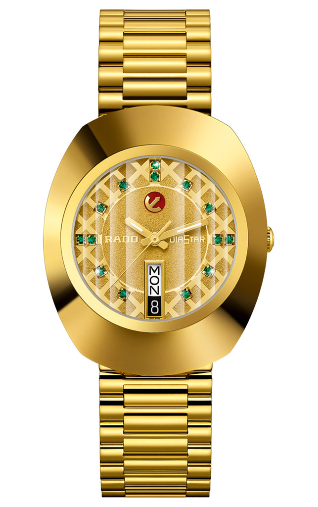 Rado Original Gold-Tone Automatic Mens Watch