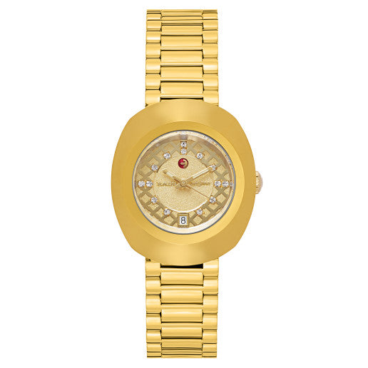 Rado Original Gold-Tone Automatic Ladies Watch