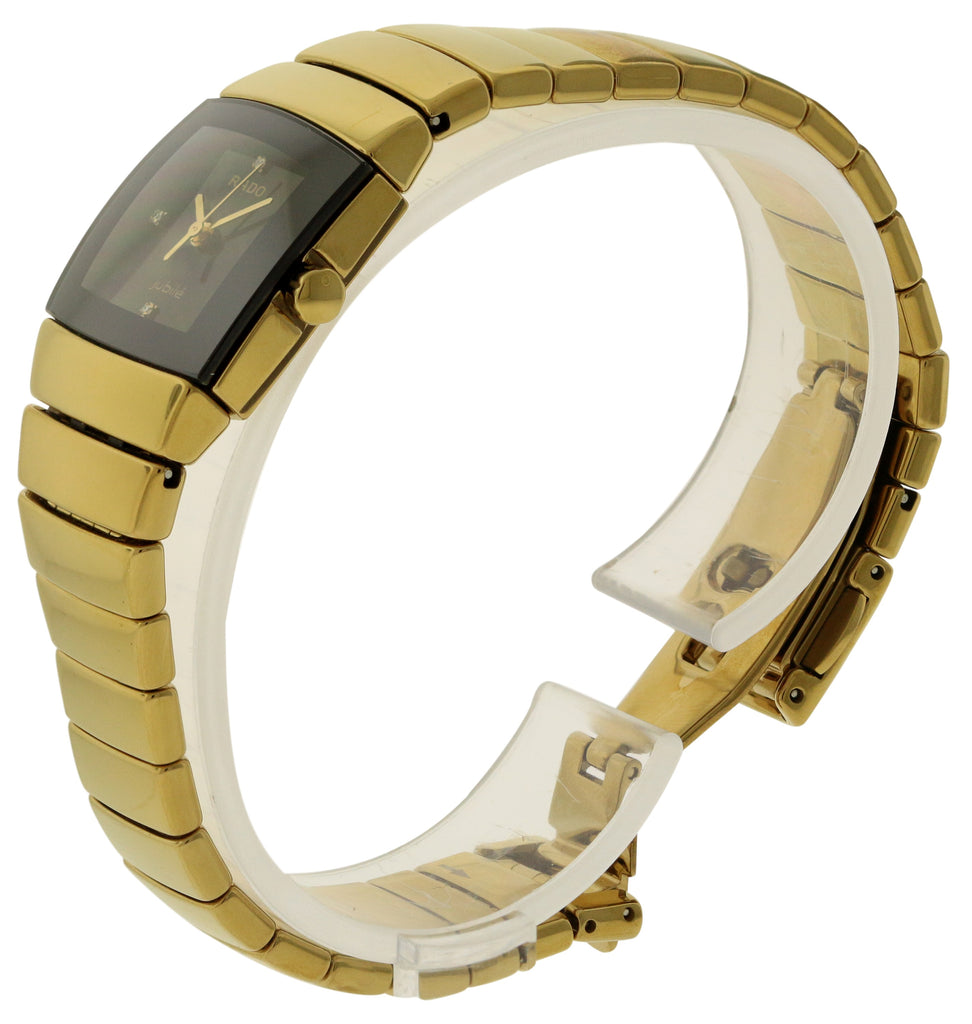 Rado Sintra Jubile Gold-Tone Ladies Watch
