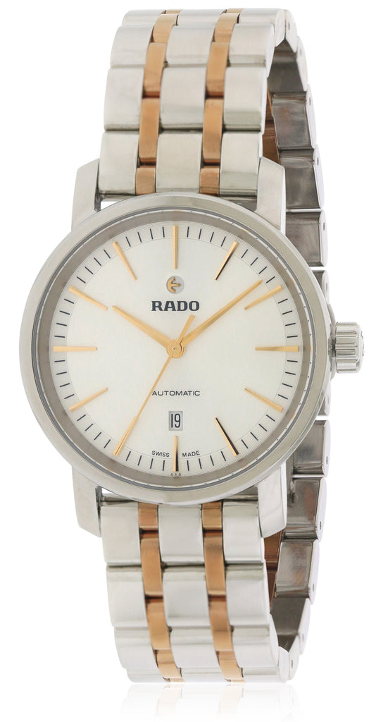 Rado Diamaster Two-Tone automatic Mens Watch