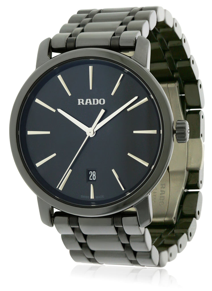 Rado DiaMaster XL Ceramic Mens Watch