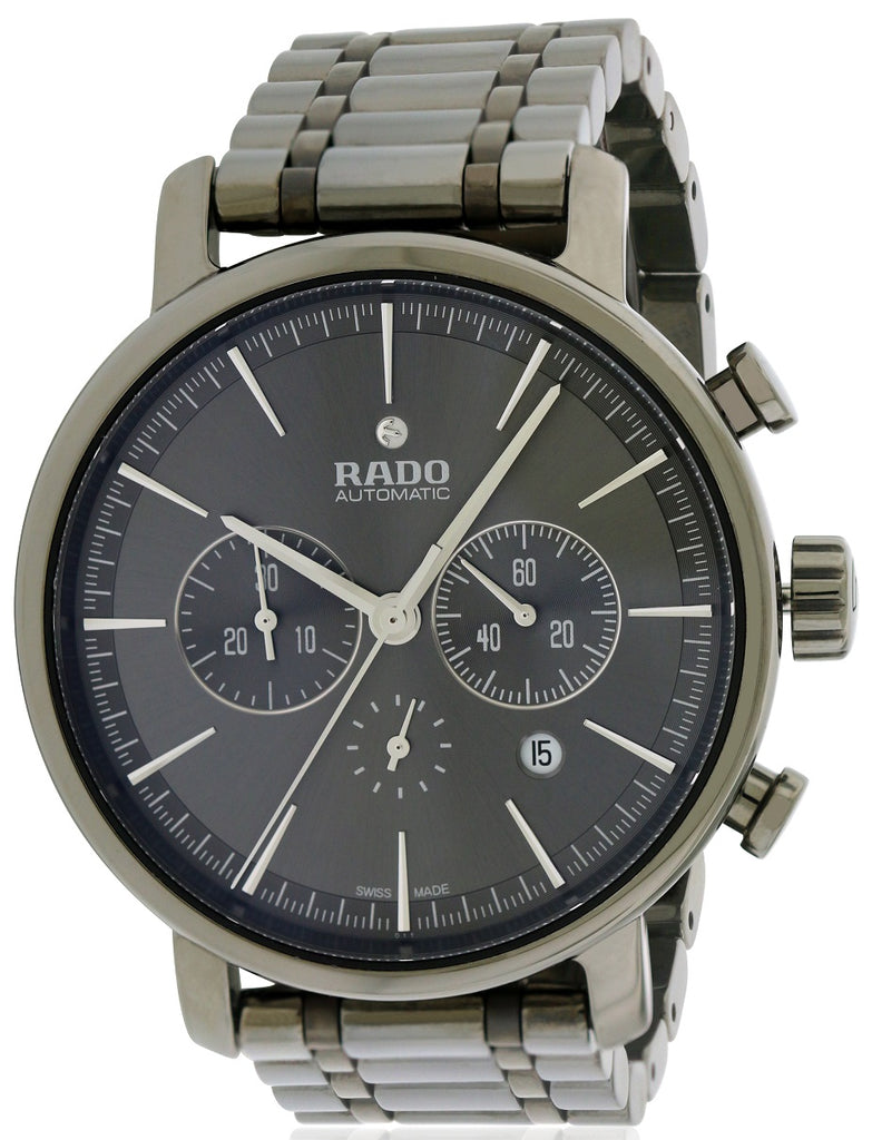 Rado DiaMaster Ceramic Automatic Chronohraph Mens Watch