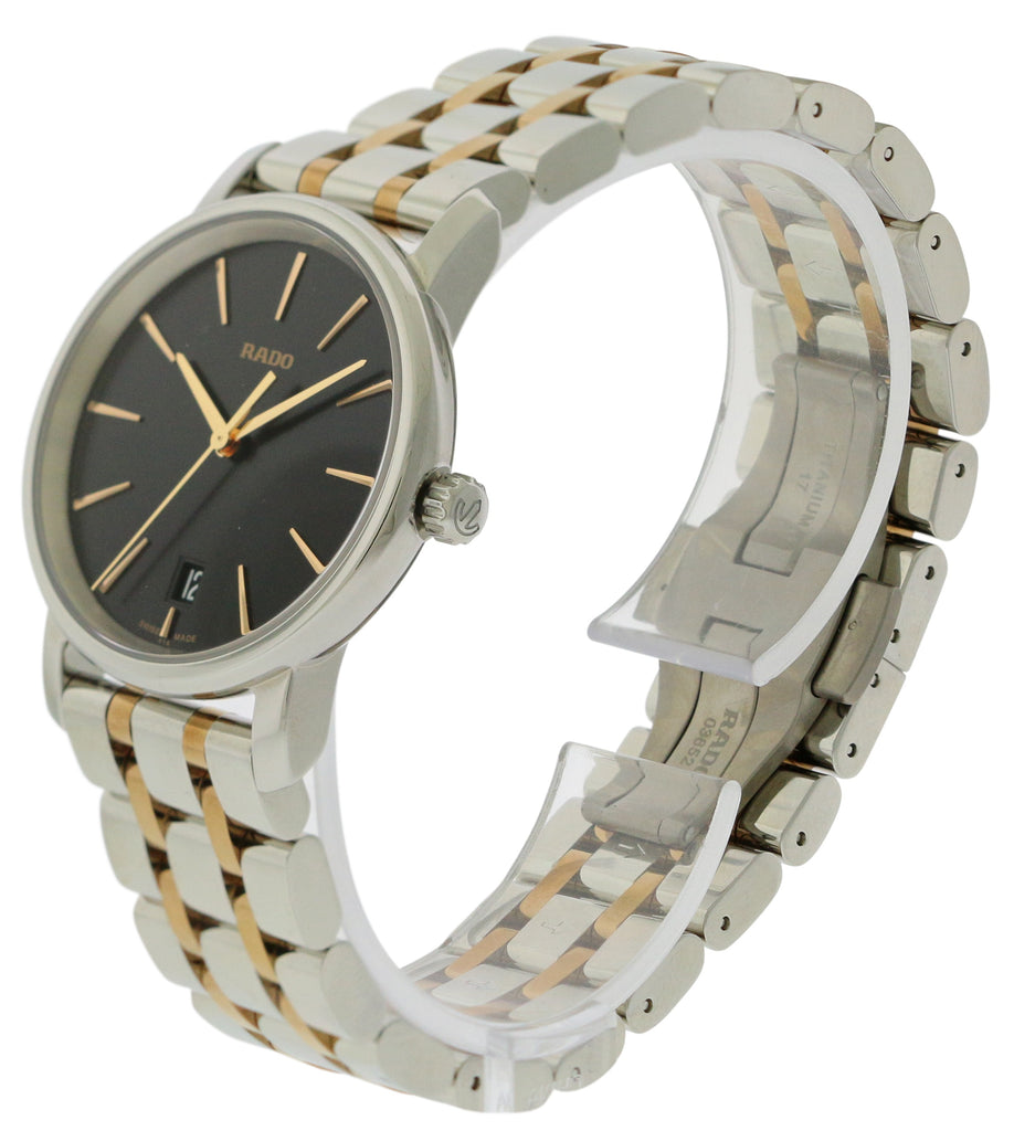 Rado DiaMaster M Two-Tone Stainless Steel Ladies Watch