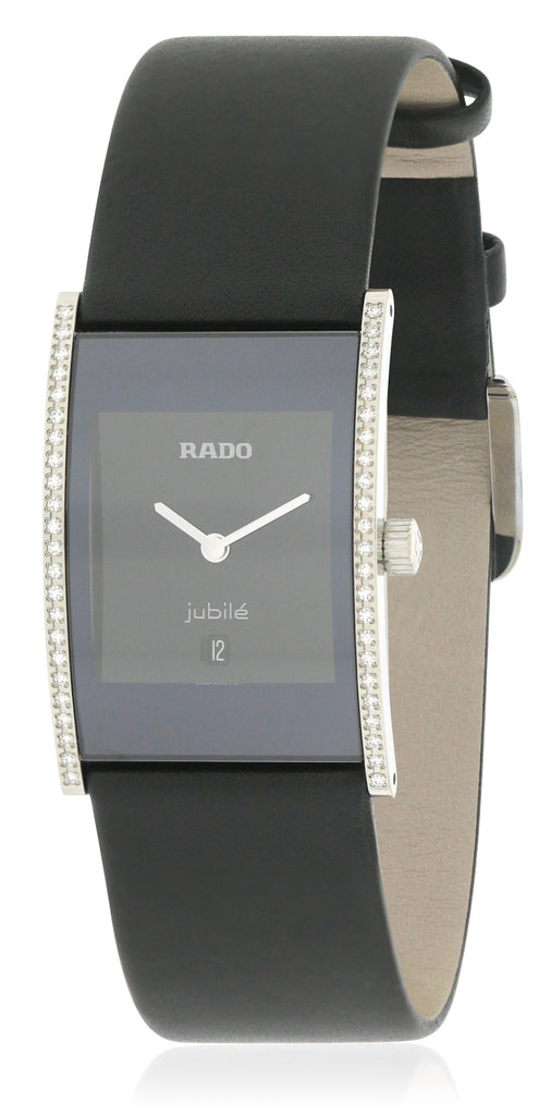 Rado Integral Jubile Leather Ladies Watch