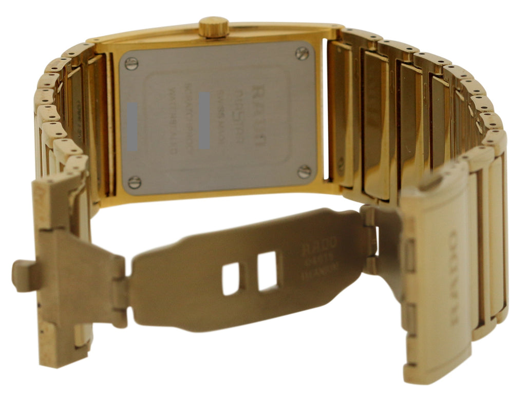 Rado Integral Jubile Gold-Tone Ladies watch