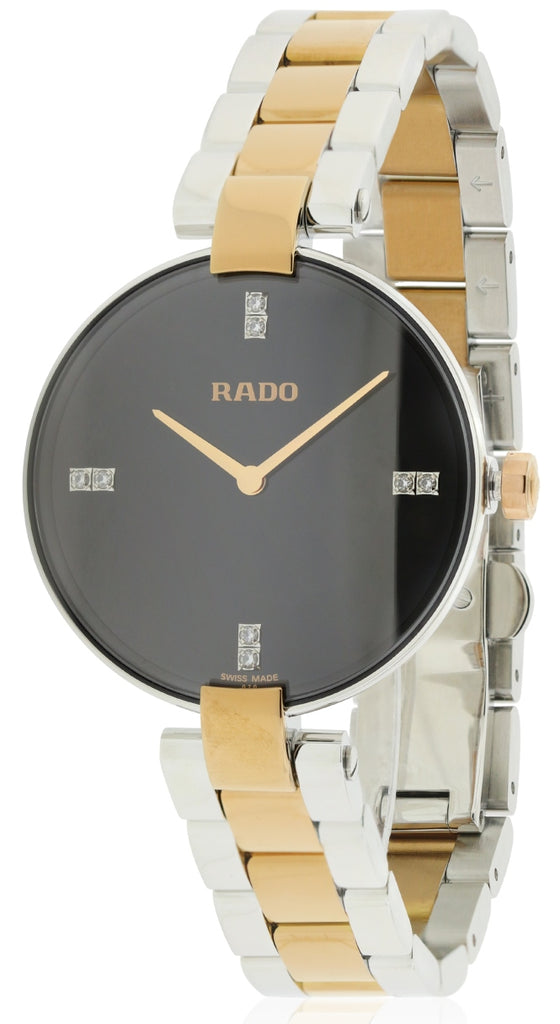 Rado Coupole Diamond Two-Tone Ladies Watch