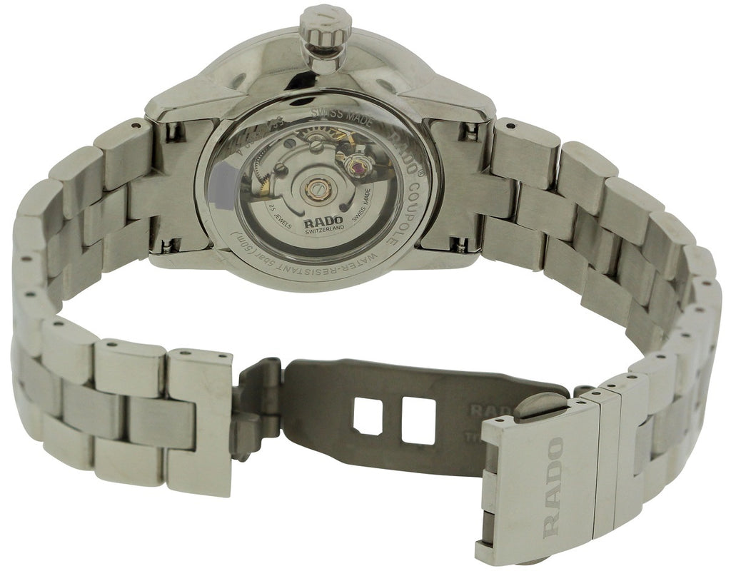 Rado Coupole Classic Automatic Stainless Steel Ladies Watch