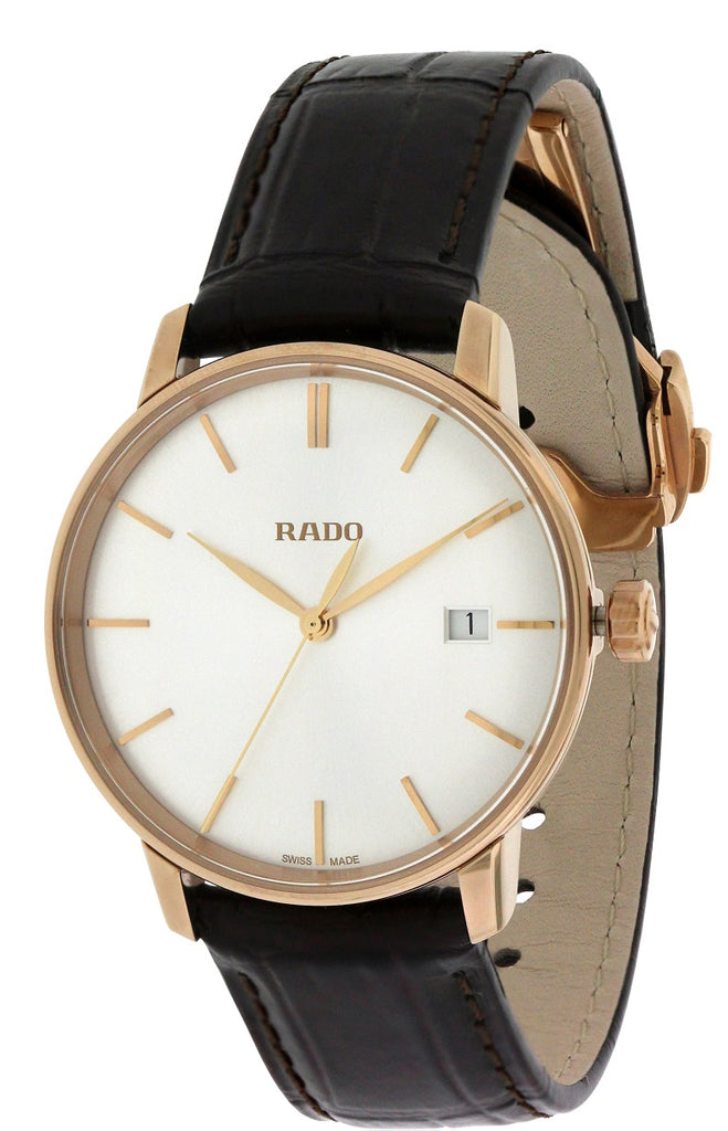 Rado Coupole Classic Leather Automatic Unisex Watch