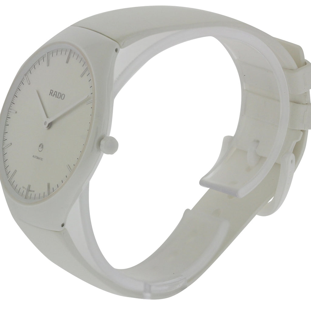 Rado True Automatic Rubber Ladies Watch