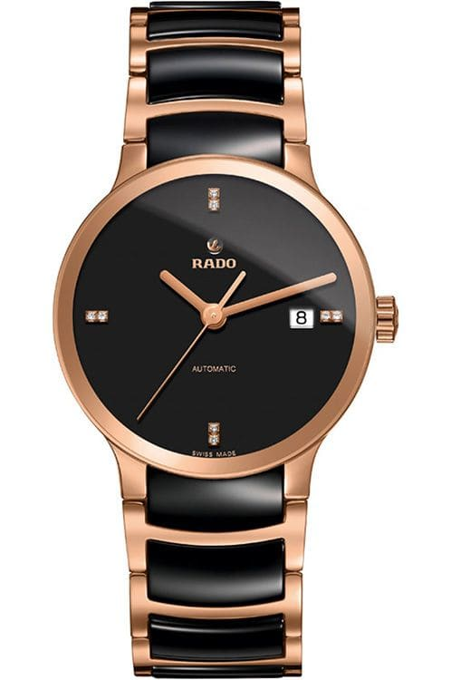 Rado Centrix Black Dial Automatic Mens Watch