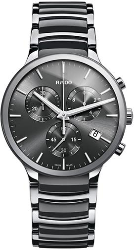 Rado Centrix Ceramic Chronograph Mens Watch