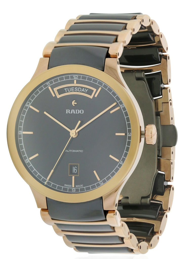 Rado Centrix Ceramic Automatic Mens Watch