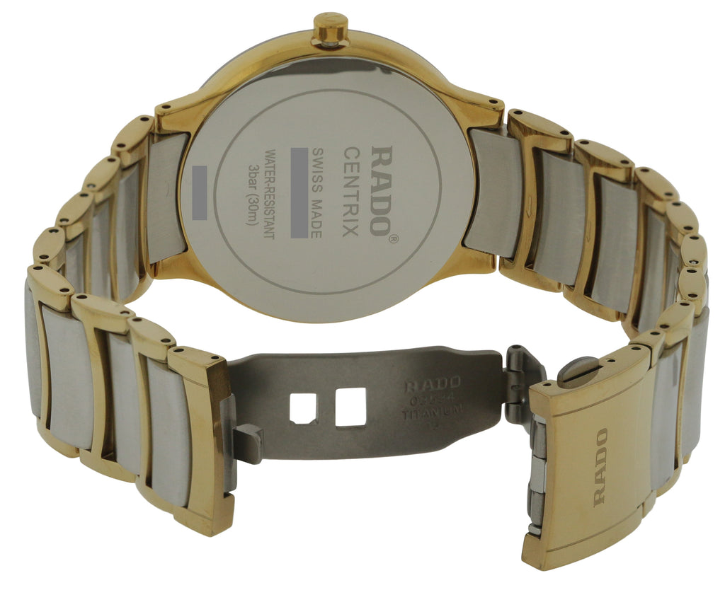 Rado Centrix Two-Tone Mens Watch
