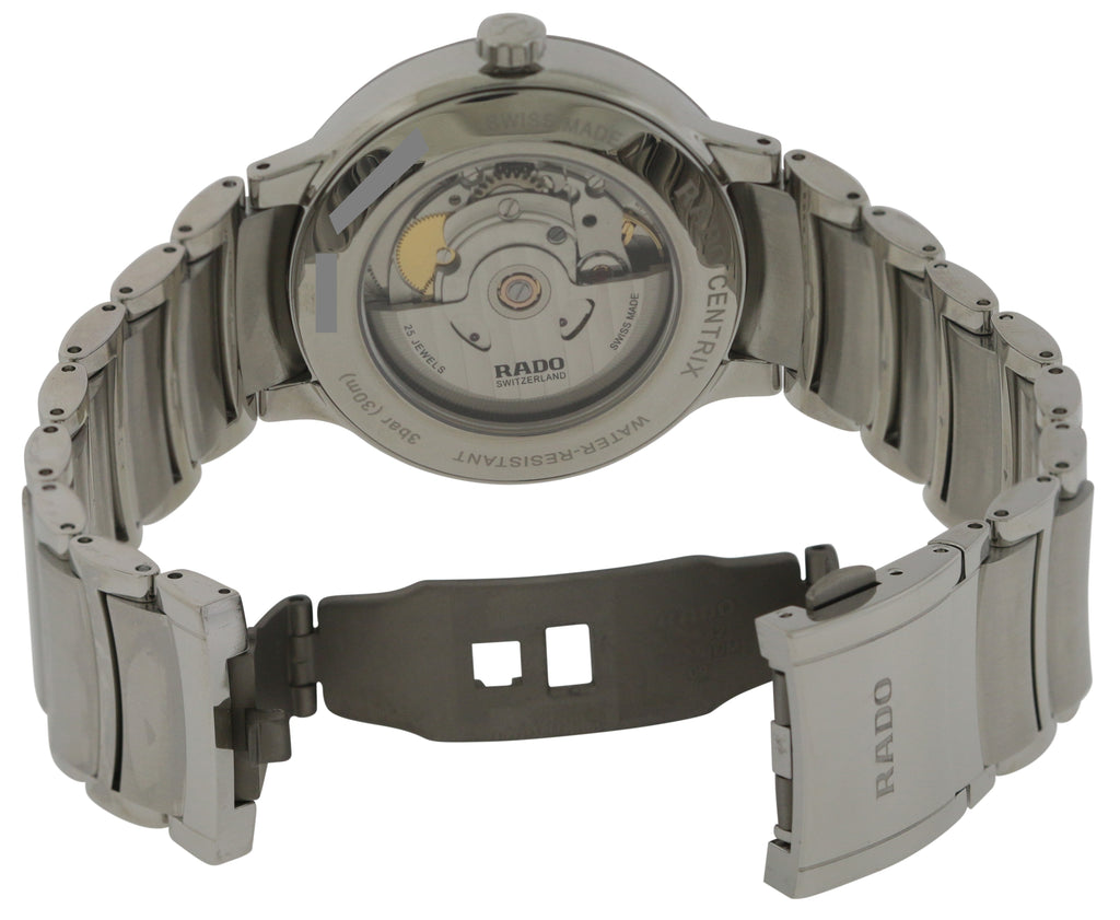 Rado Centrix Stainless Steel Automatic Mens Watch