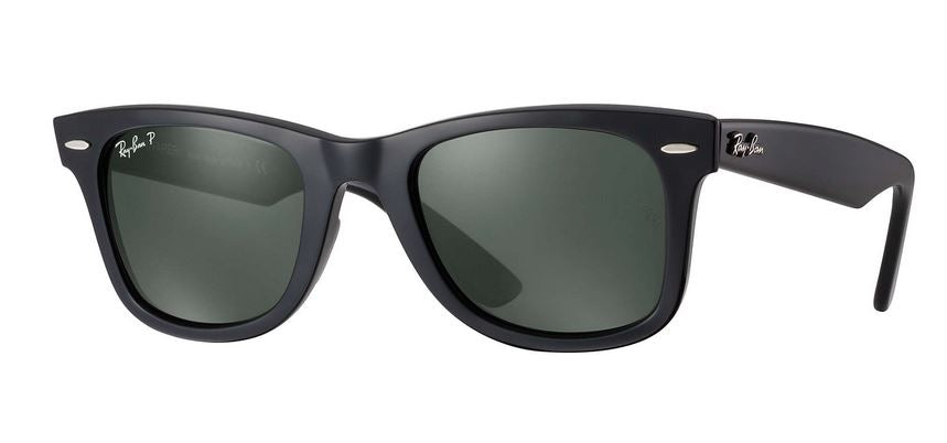 Ray-Ban Original Wayfarer Classic Black Polarized Sunglasses -