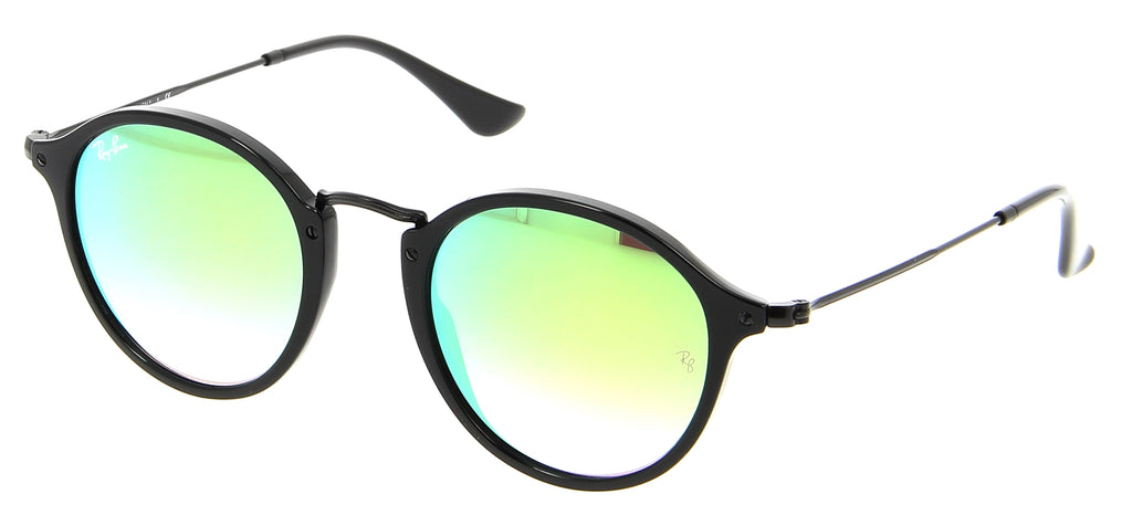 Ray-Ban Round Fleck Flash Lenses Gradient Sunglasses