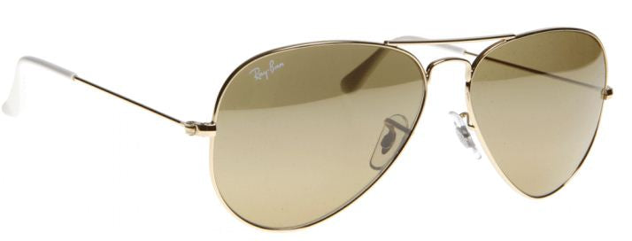 Ray-Ban Aviator Gold Mens Sunglasses
