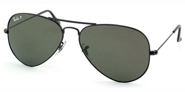 Ray-Ban Aviator Large Polarized Unisex Sunglasses
