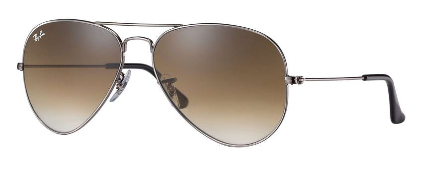 Ray-Ban Aviator Gradient Gunmetal Sunglasses -