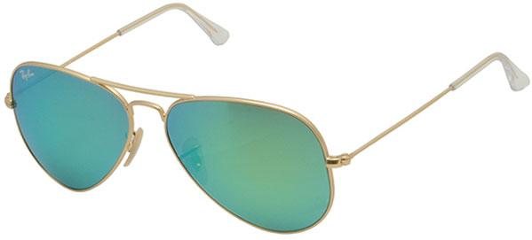 Ray-Ban Aviator Large Metal Gold Unisex Sunglasses