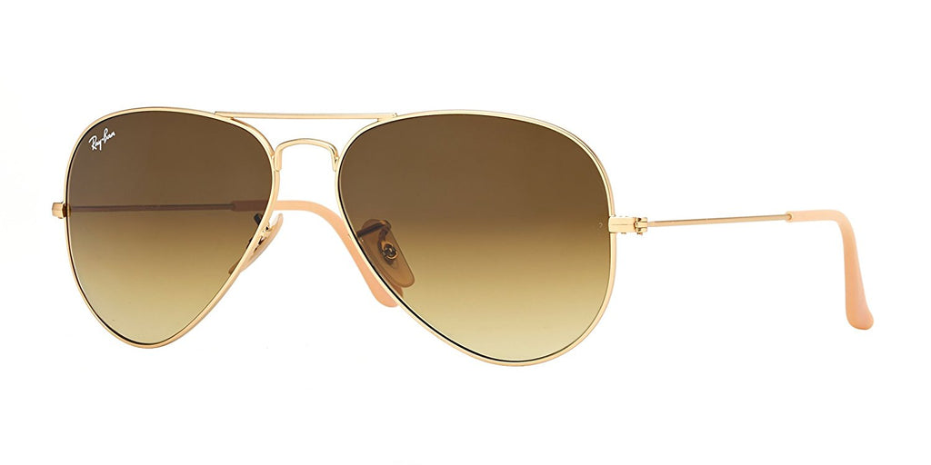 Ray-Ban Aviator Gradient Gold Sunglasses -