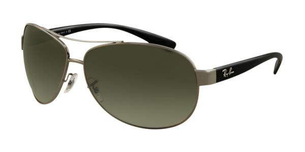 Ray-Ban Gunmetal Black Sunglasses