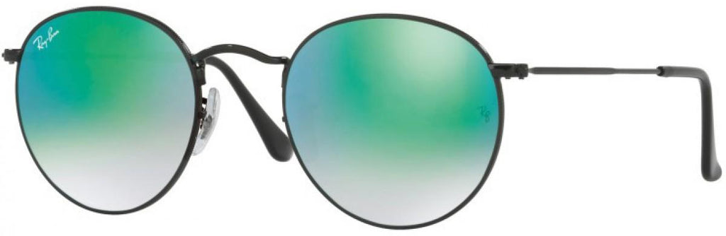 Ray-Ban Round Metal Cateye Sunglasses RB3447-002/4J
