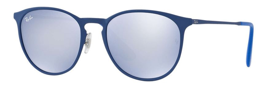 Ray-Ban Erika Metal Blue Unisex Sunglasses -