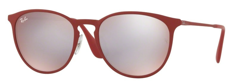 Ray-Ban Erika Metal Bordeaux Sunglasses