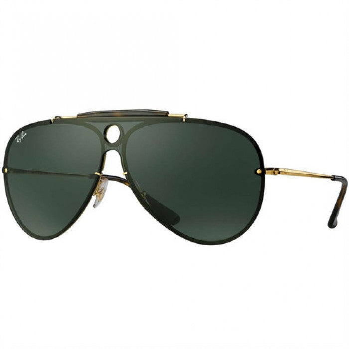 Ray-Ban Blaze Shooter Green Classic Sunglasses