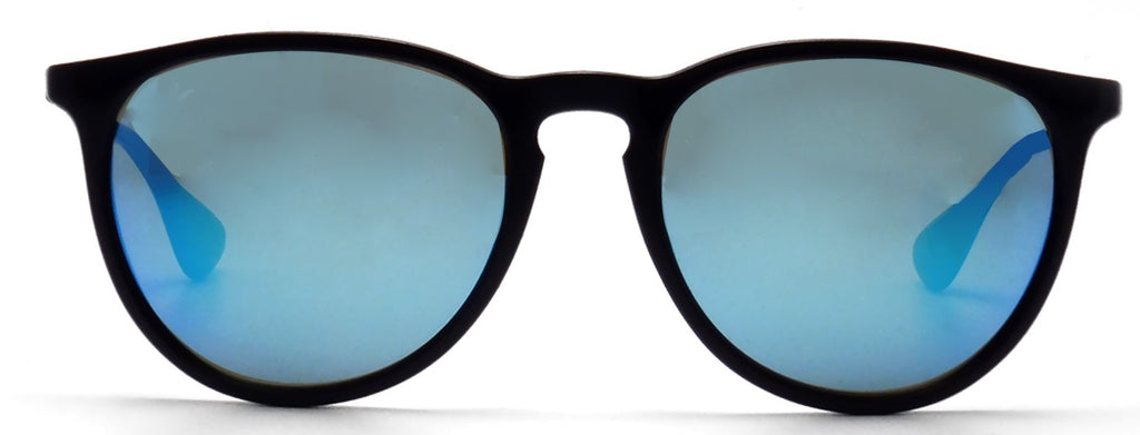 Ray-Ban Erika Color Mix Black Gunmetal Sunglasses